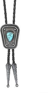 ربطة عنق بولو للرجال من ilasif ، رباط عنق مصنوع يدويًا على الطراز الغربي رعاة البقر بولو ، ربطة عنق جلدية هالوين إكسسوارات...