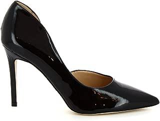 LEONARDO SHOES Luxury Fashion Womens SHEERYVERNICENERO Black Pumps | Season Permanent
