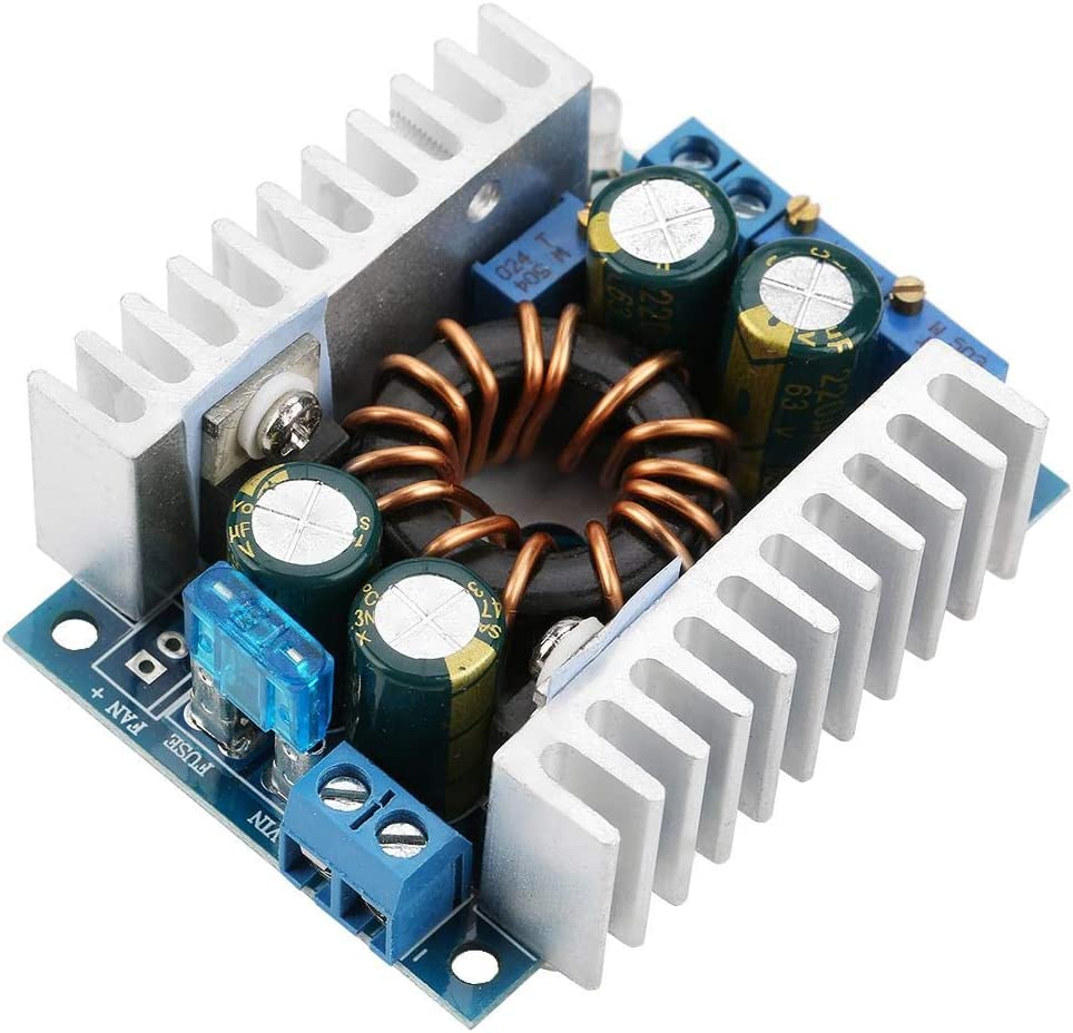 Step Up Voltage Converter DC10-32V to DC12-60V Boost Power Module DC-to-DC Power Converter