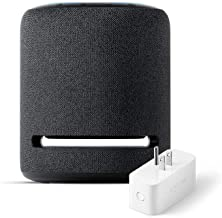 Echo Studio (Charcoal) with Amazon Smart Plug