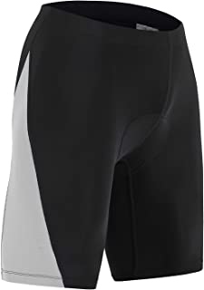 HISKYWIN Men's UPF50 3D Padded Cycling Underwear Shorts Bike Undershorts Bicycle MTB Underpants Breathable Briefs MTB