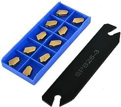 Rowkowe narzędzie do cięcia SENRISE SPB26-3 26 mm rowkowanie narzędzie do cięcia rowków + 10 szt. GTN-3 SP300 Wstawki do c...