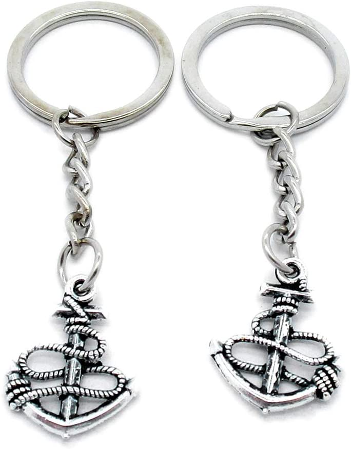 Max 55% OFF 100 Pieces Keyring Keychain 2021 Wholesale U Suppliers Jewelry Clasps