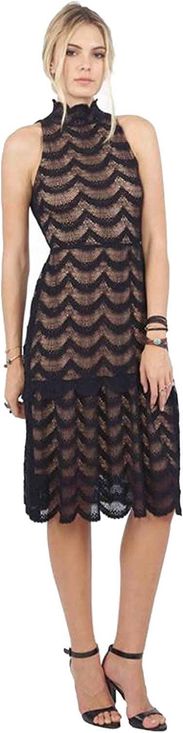 Nightcap Womens Fiesta Fan Lace Soiree Dress Black 1,2,3