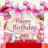 15 PCS Makeup Birthday Party Decoration Makeup Birthday Backdrop Spa Party Decoration Spa Party Supplies Makeup Birthday Party Supplies