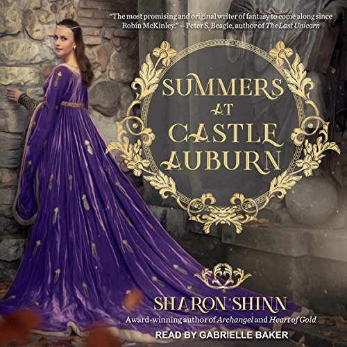 Summers at Castle Auburn audiobook cover art