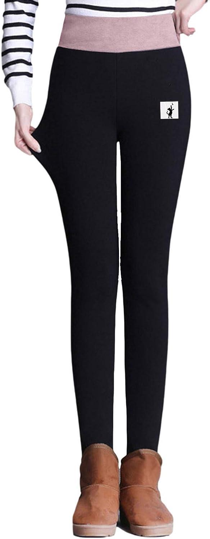 Legging Hiver Long Femme Pantalon Chaud dhiver /À Taille Haute Grande Taille Sport Noir pour Femme Adulte Legging Doubl/é en Velours /Épais et Extensible
