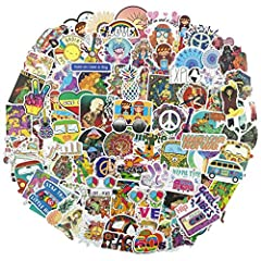 100Pcs high quality brand logo stickers. Material: PVC, waterproof and sun protection. Easy use to any smooth surface! Clean the surface then sticker on, use your imagination to create works. Perfect to personalize Laptops, Macbook, Skateboards, Lugg...