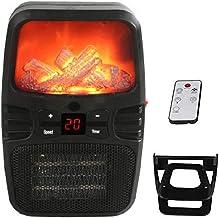 BEIAKE Calefactor Eléctrico Portátil con Pantalla LED Estufa Mini Mesa De Calefacción Domésticos Radiador Calentador Máquina para Oficina Y El Hogar 220V