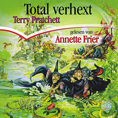 Total verhext audiobook cover art