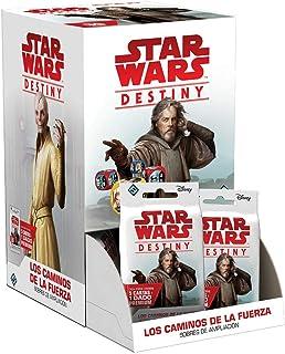 Fantasy Flight Games - Juego de Cartas Star Wars Destiny: Los Caminos De La Fuerza (Expositor 36 Sobres)