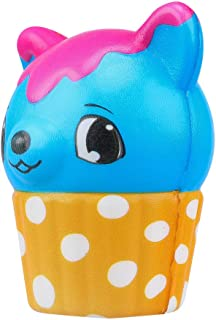 Amaae Kawaii Adorable Ice Cream Deer Slow Rising Cream Scented Stress Toys(Color:Multicolor ; Material:pu)