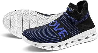 Walking Sneakers Women Running Shoe Sockun Slip on Sock Shoes Knitted Stretch for Aerobics Yoga Walking Gym Traveling Casual Footwear
