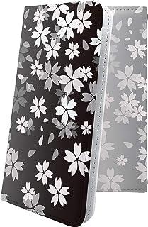 iPhoneX ケース 手帳型 サクラ 桜 花柄 花 フラワー アイフォン アイフォン10 エックス テン ケース 手帳型ケース 和柄 和風 日本 japan 和 iphone x ケース おしゃれ 10476-njfekg-10001540-iphone x