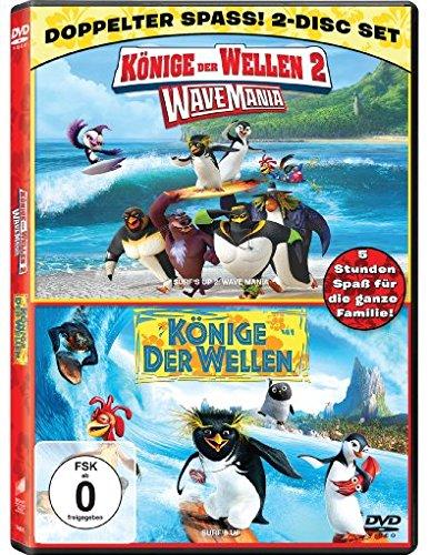 Könige der Wellen / Könige der Wellen 2 - Wave Mania [2 DVDs]