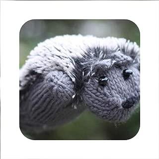 Women Winter New Gloves Without Fingers Knitting Wool Cute Warm Mittens Fingerless Cartoon Hedgehog Warm Gloves 5 Colors