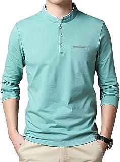 EYEBOGLER Band Collar Men's T-Shirt(EBT325 & EBT325HS)