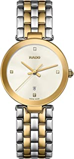 Rado Women's White Dial Metal Band Watch - R48872723