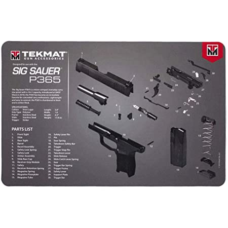 TekMat Ultra Reinigungsmatte f/ür Sig P320