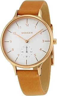 スカーゲン SKAGEN アニタ クオーツ レディース 腕時計 SKW2405 ホワイト [並行輸入品]