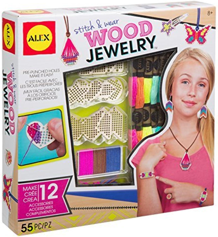 ALEX Toys DIY Wear Stitch & Wear Wood Jewelry by ALEX Toys