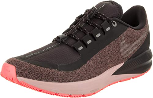 Nike Air Zoom Structure 22 RN Shld, Chaussures de Running Femme, gris (Oil gris Metallic argent-Smoke 002), EU
