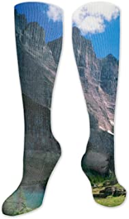 Winter MountainsCompression Socks, BEST for Men & Women, Running, Flight, Travels,parties