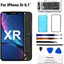 Fixerman for iPhone Xr Screen Replacement 6.1 inch,LCD Display Touch Screen Digitizer Assembly with Repair Tools, Compatible with Model A1984, A2105, A2106, A2108