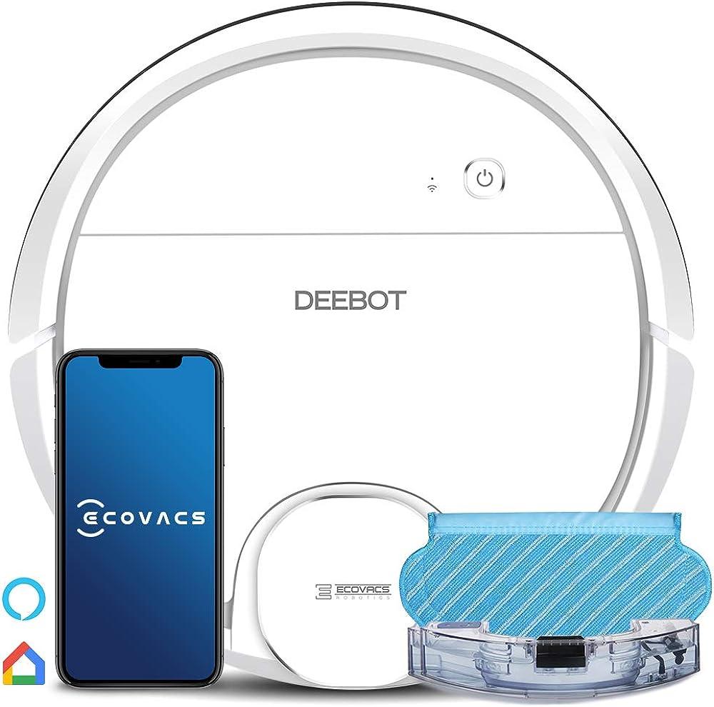 Ecovacs deebot ozmo 905 aspirapolvere robot laser, aspira e lava 2 in1 200013441