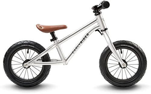 EARLY RIDER Alley Runner - Bicis para Niños de 3 hasta 6 años en Aluminio, Color gris