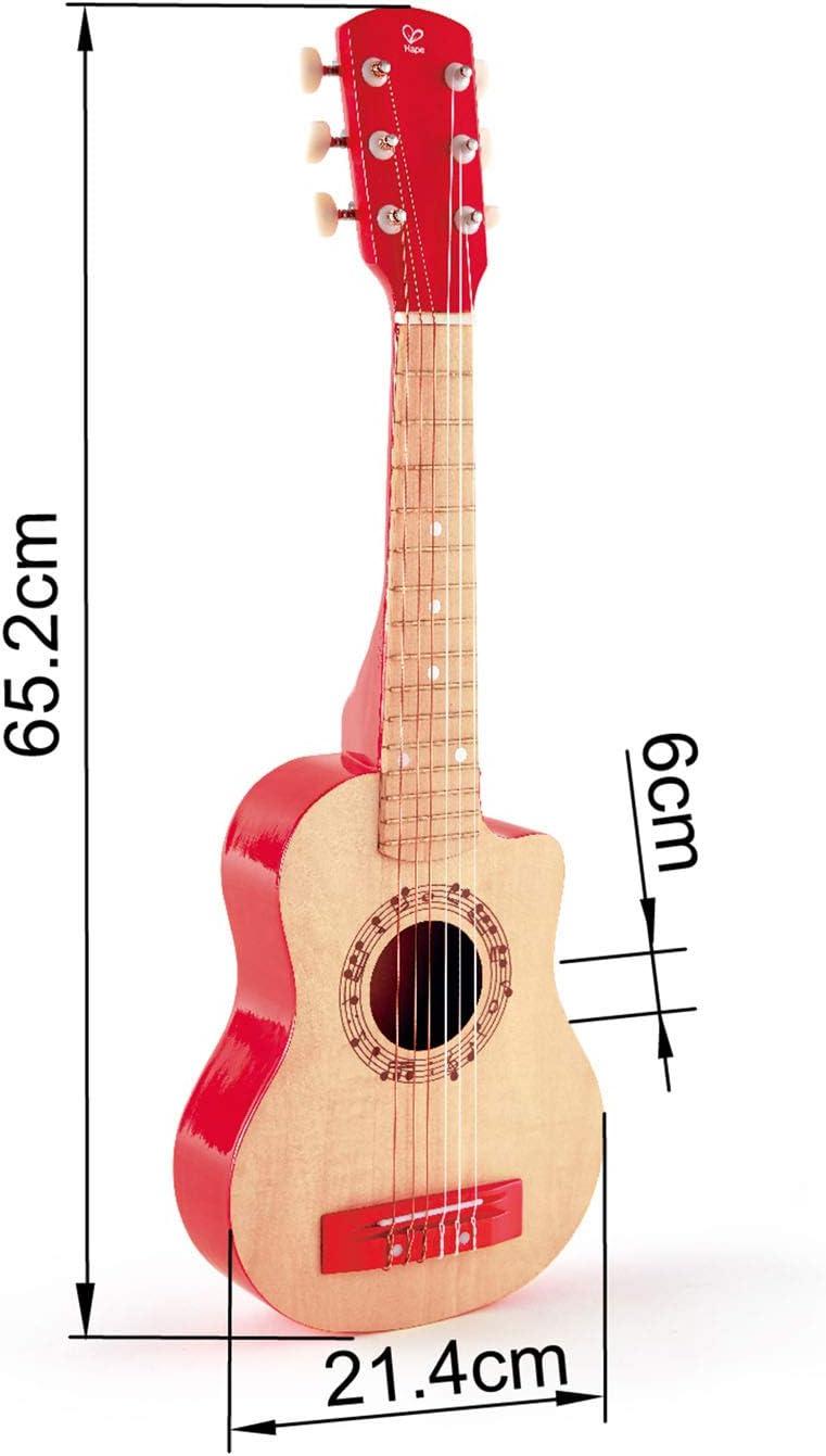 Hape E0600 Gitalele Flower-Power, Gitarre/Ukulele rot