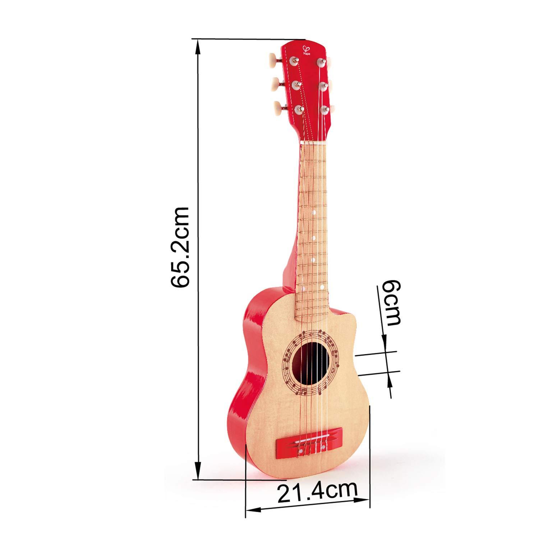 Hape International- Red Flame Guitarra Clásica, Multicolor, Talla ...