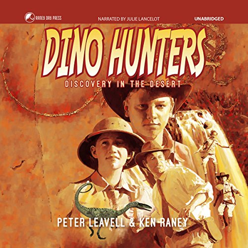Dino Hunters audiobook cover art