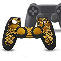 Yosoo Soft Silicone Case Skin Grip Shell Cover for PS4 Controller