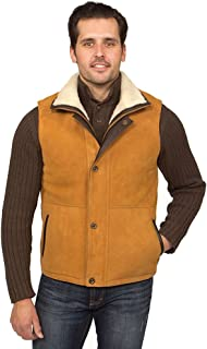 Aston Leather Men's Explorer Shearling Vest