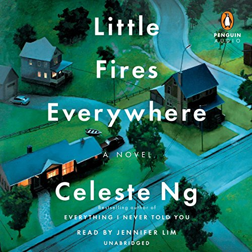 Little Fires Everywhere audiobook cover art