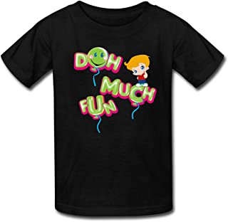 Funnel Vision Doh Much Fun Kids' T-Shirt