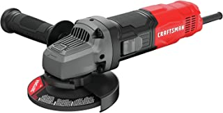 CRAFTSMAN Small Angle Grinder Tool 4-1/2-Inch, 6-Amp (CMEG100) (Renewed)