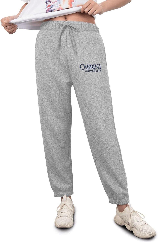 Pants Womens Cabrini University Sweatpants Opening large release Award-winning store sale Fashion Logo Athletie
