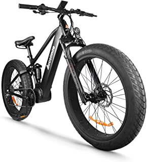 Accolmile Electric Bicycle 48V 1000W Bafang Mid Drive Motor 26
