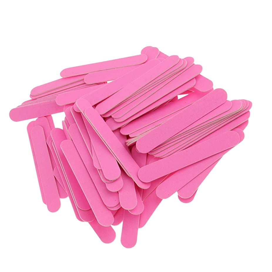 麻痺させる滞在民間人Sharplace ネイルファイル 使い捨て 爪ファイル 約100個