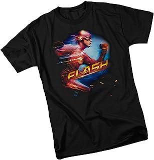 DC Comics Fastest Man - CW`s The Flash TV Show Adult T-Shirt