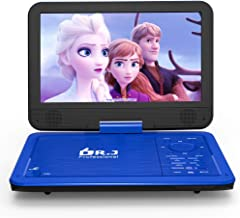 "DR. J 12.5"" Portable Car headrest Video Player, Region-Free Portable DVD Player.."
