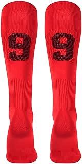 Custom Team Number Knee High Socks Athletic Socks by 3street Soccer Socks Choose Your Number