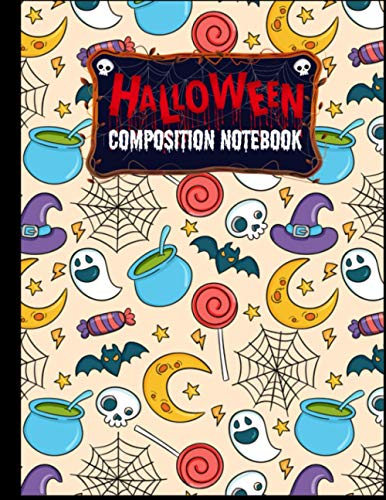 Halloween Composition Notebook: Gifts for Halloween Lovers - Back to School College Ruled Journal for Adults Students Teachers - Halloween Composition ... Owls and Pumpkins Cover by Paperback Paradise