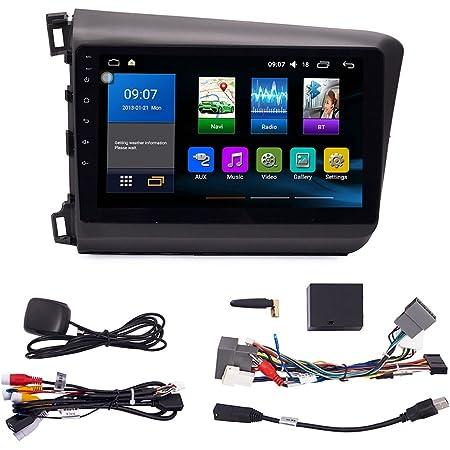 Android 10 Autoradio Car Navigation Headunit Multimedia Player GPS Radio Touch Screen for Honda Civic 2012-2015