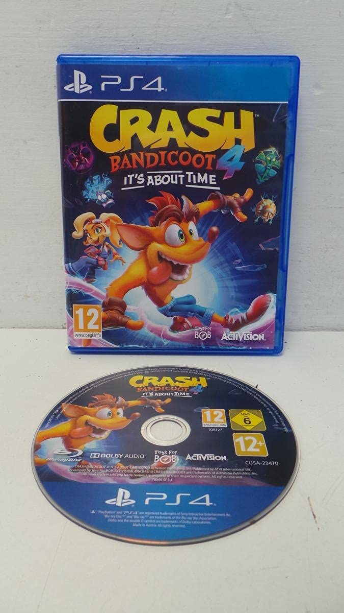 Free shipping anywhere in the nation Crash Bandicoot 4: It's PS4 5 ☆ popular About Time