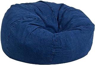 كرسي راحة بين باج جينز حجم كبير أزرق من ريجال إن هاوس - JBB0159005