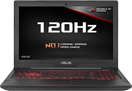 ASUS FX503VM-EN184T 15.6 Inch Full HD 120 Hz Screen Gaming Laptop - (Black) (Intel i5-7300HQ, 8 GB RAM, 256 GB SSD, Dedicated Nvidia GTX 1060 Graphics, Windows 10)