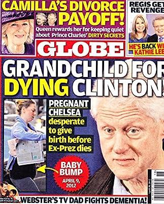 Bill & Chelsea Clinton l Camilla Parker Bowles l Regis Philben & Kathie Lee Gifford l Alex Karras - April 30, 2012 Globe
